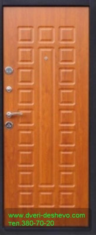 двери входные металлические дубовые