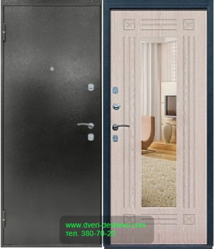 железная сейфовая входная дверь с установкой недорого